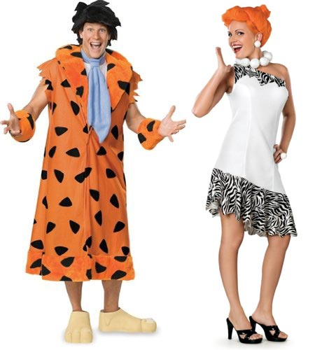 Couple Halloween costume ideas The Flintstones Fred & Wilma Costume