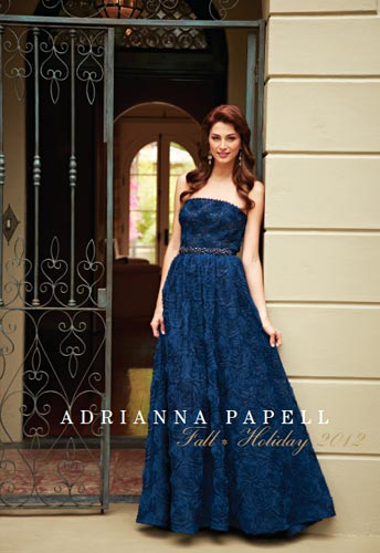 Adrianna Papell Fall Holiday Evening Dresses 2012-1