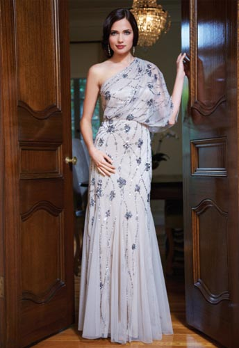 Adrianna Papell Fall Holiday Evening Dresses 2012-7