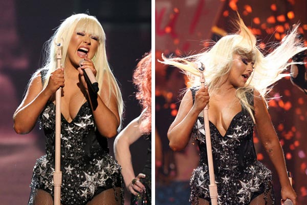 American Music Awards 2012 Fashion Christina Aguilera