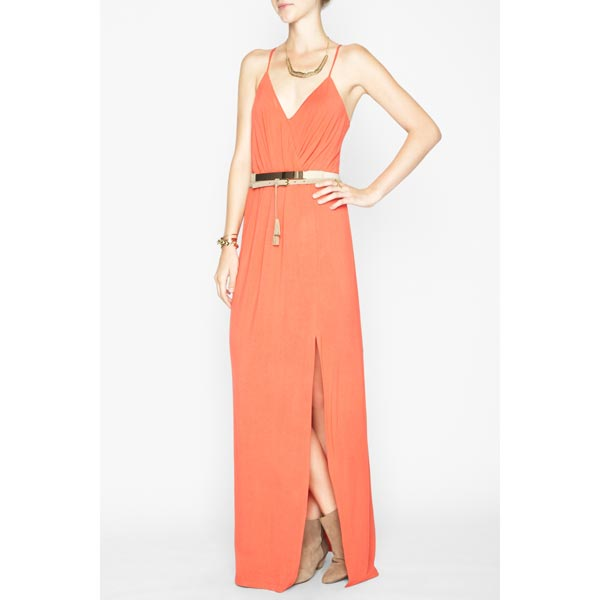 BCBG Women's Bcbgeneration High-Slit Maxi Dresses