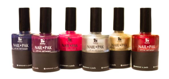 Duality Cosmetics Nail Pak Holiday Collection