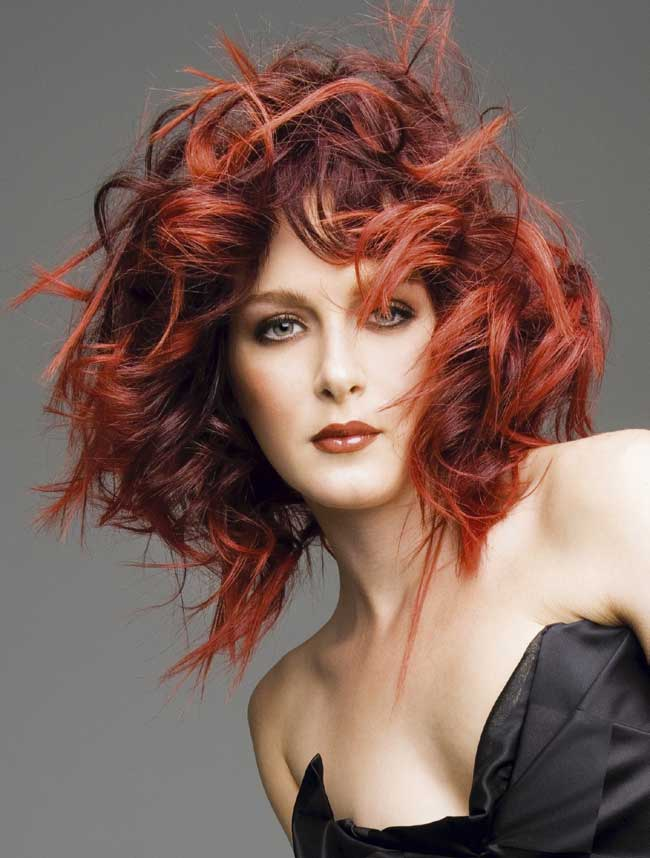 Red Hair Color Trends 2013