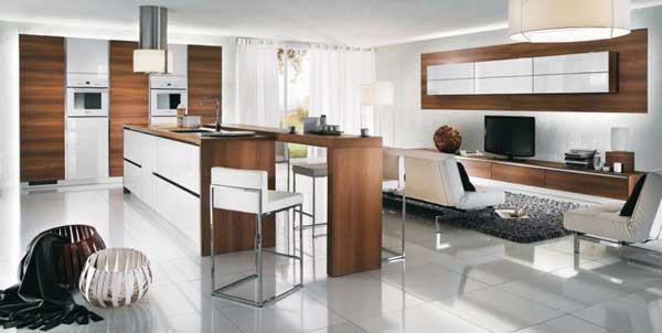 French kitchen cabinets design ideas by Mobalpa-2