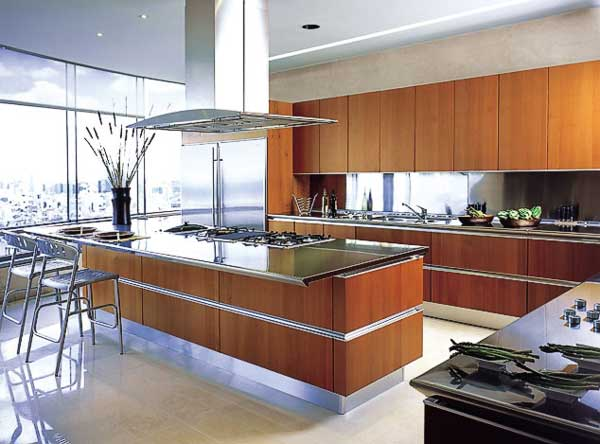 Kitchen cabinets design ideas for Snaidero kitchen