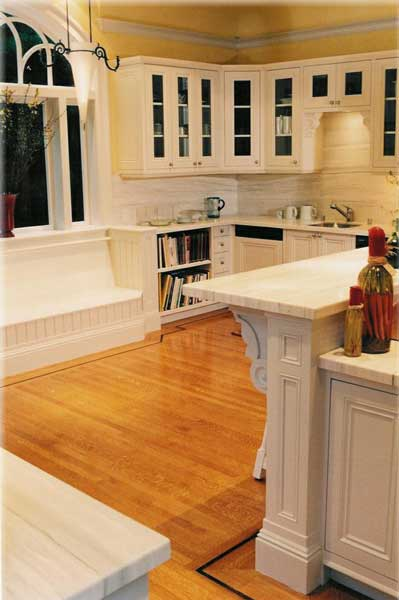 Victorian kitchen cabinets design ideas by Design In Wood-2