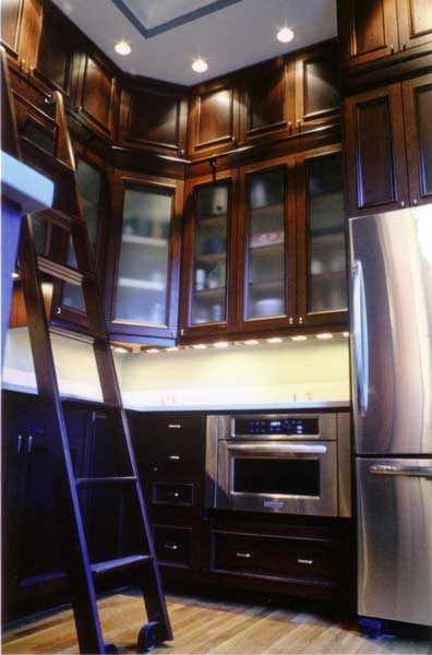 Victorian kitchen cabinets design ideas by Design In Wood-3
