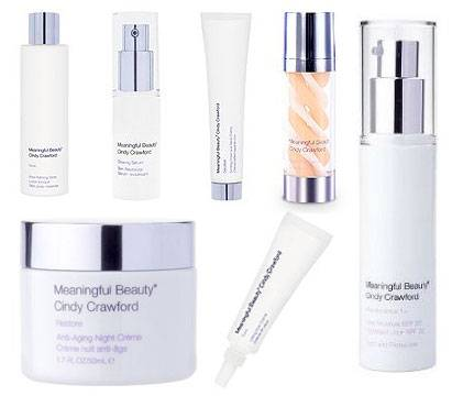 Meaningful Beauty Cindy Crawford New Advanced Skin System