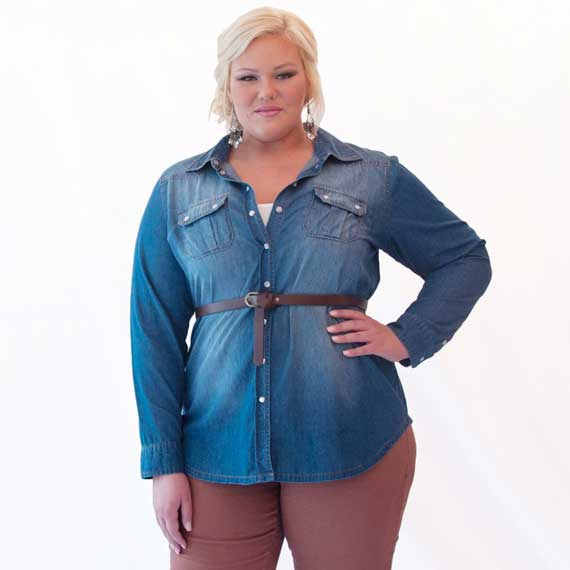 Plus Size Women's Clothes Trends 2013_02