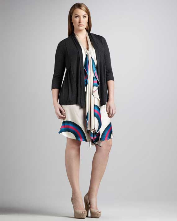 Plus Size Women's Clothes Trends 2013_05