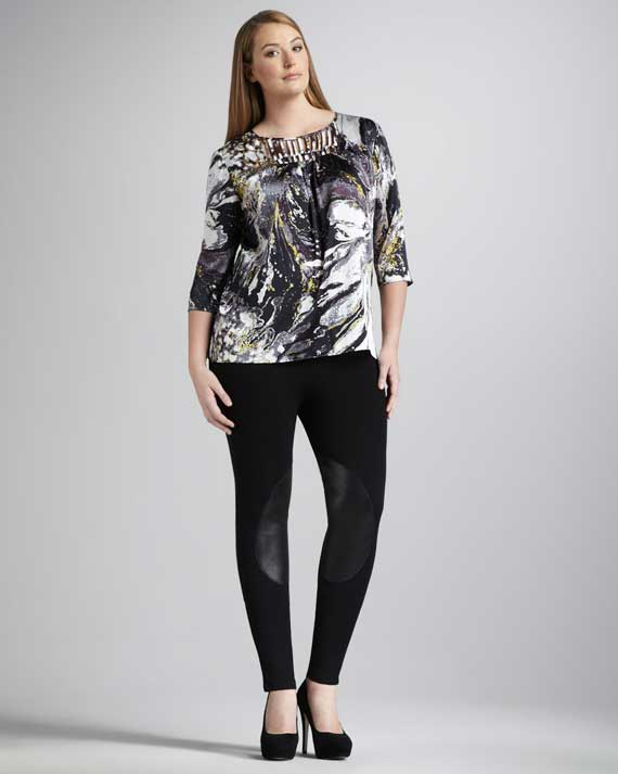 Plus Size Women's Clothes Trends 2013_06