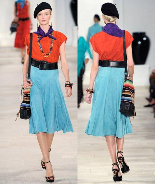 Ralph Lauren Women's RTW Collection Spring 2013 Runway-2