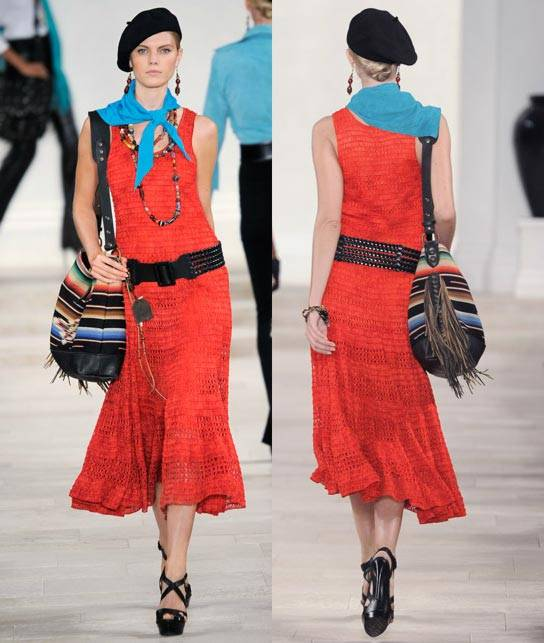 Ralph Lauren Women's RTW Collection Spring 2013 Runway-3