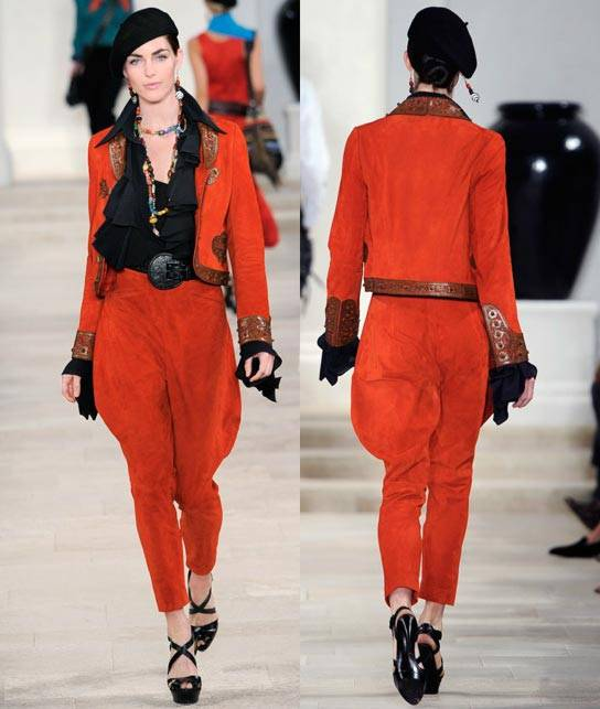 Ralph Lauren Women's RTW Collection Spring 2013 Runway-4