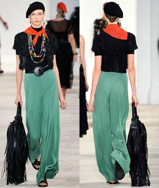 Ralph Lauren Women's RTW Collection Spring 2013 Runway-7