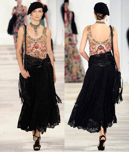 Ralph Lauren Women's RTW Collection Spring 2013 Runway-8