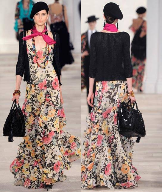 Ralph Lauren Women's RTW Collection Spring 2013 Runway