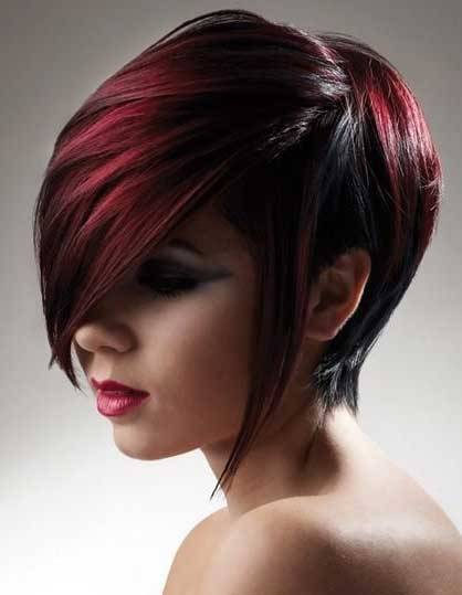 Short Hairstyles with Bangs-4