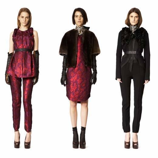 Vera Wang Pre-Fall 2013 Collection