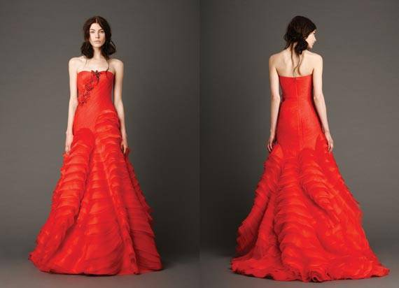 Vera Wang Wedding Dresses 2013 Spring Collection