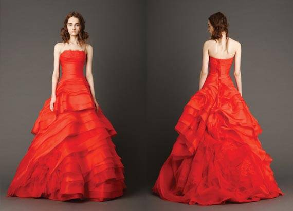 Vera Wang Wedding Dresses 2013 Spring Collection