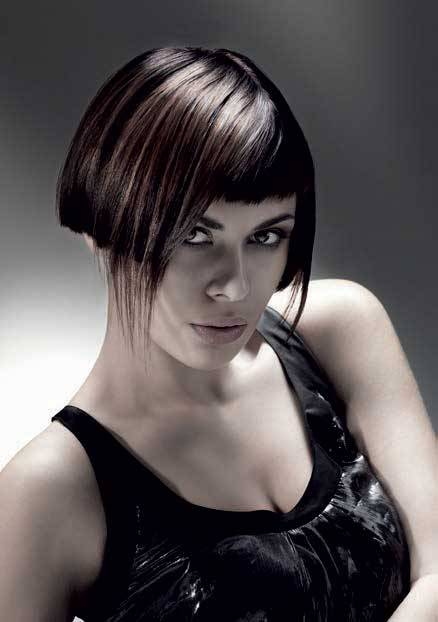 short hairstyles for thick hair-3