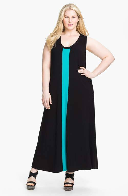 Cute Plus Size Summer Maxi Dresses