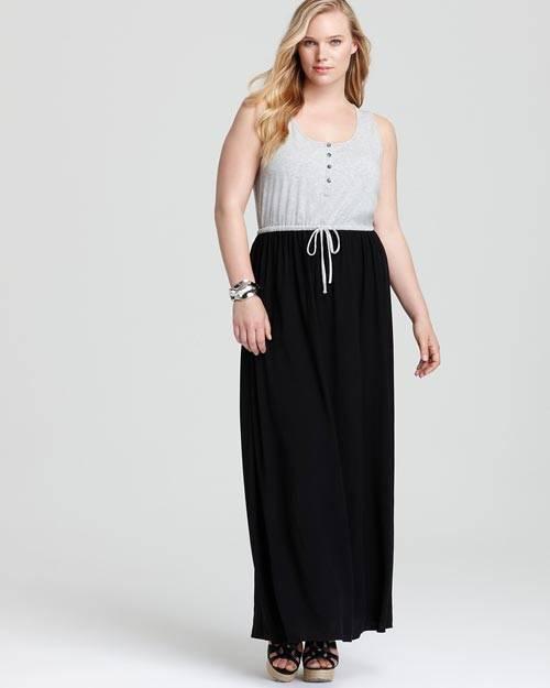 Cute Plus Size Summer Maxi Dresses-07