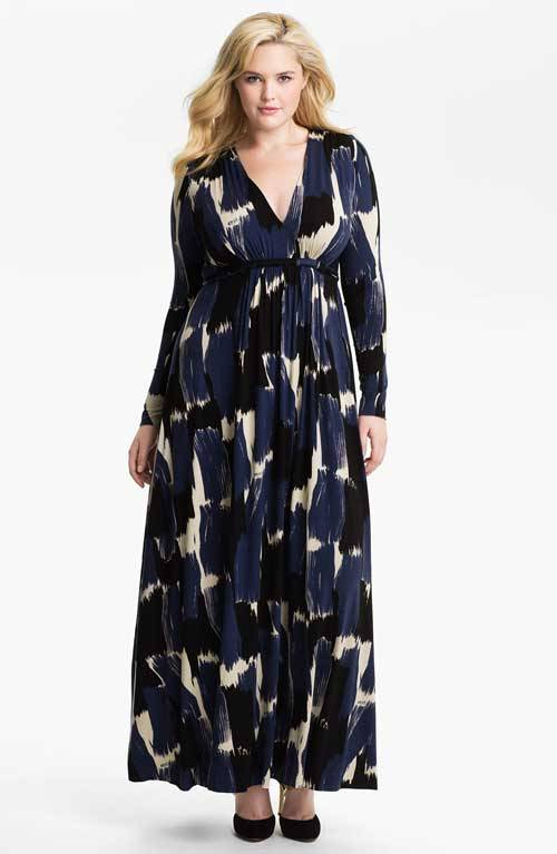 Cute Plus Size Summer Maxi Dresses-10