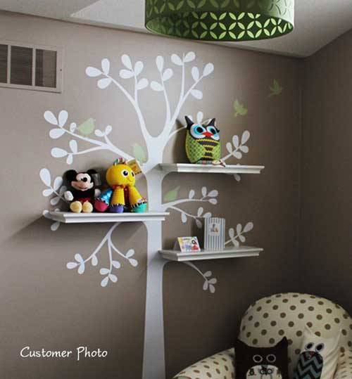 Decorating Wall Shelves Ideas 2013 02