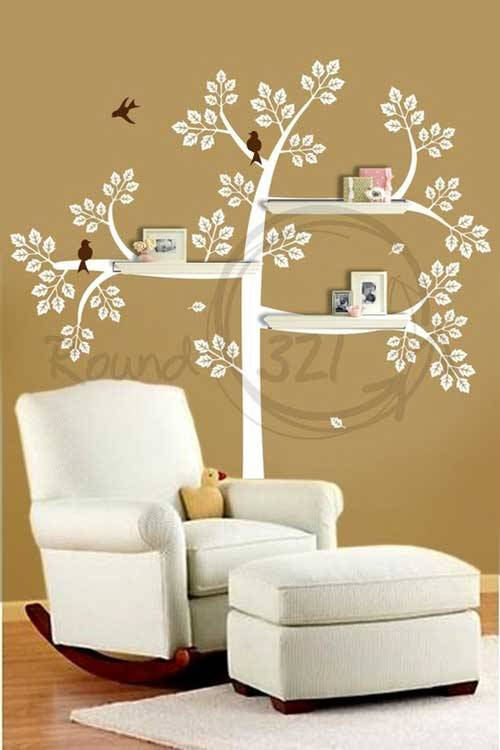 Decorating Wall Shelves Ideas 2013 08