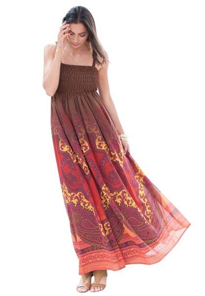 Look Hot This Year with Maxi Dresses 2013_06