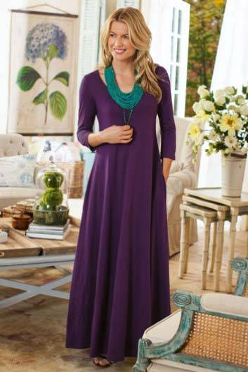 Look Hot This Year with Maxi Dresses 2013