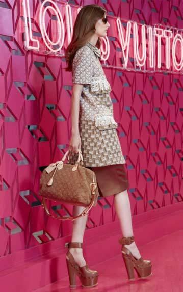 Louis Vuitton RTW Spring Summer 2013 Cruise Collection