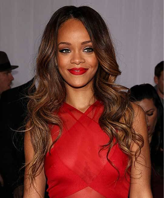 A Guide For Celebrity Hairstyle Trends 2013 Rihanna