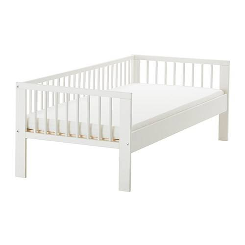 Ikea Kritter Toddler Bed Frame ~ Kids White Metal Bed Frame IKEA