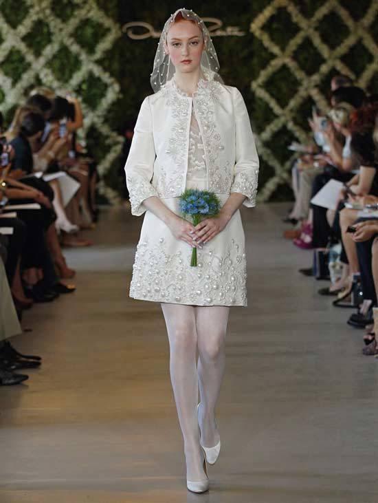 Oscar De La Renta Bridal Dresses 2013-1