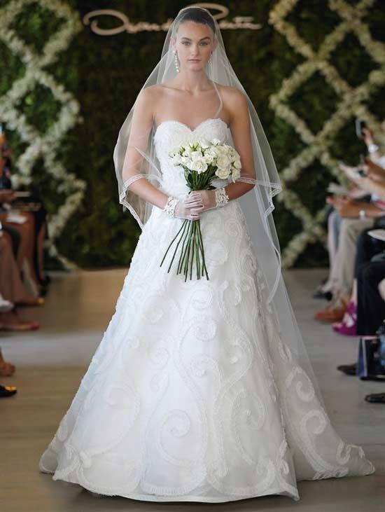 Oscar De La Renta Bridal Dresses 2013-10