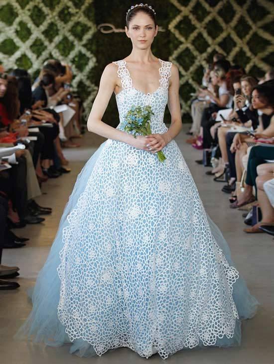 Oscar De La Renta Bridal Dresses 2013-12
