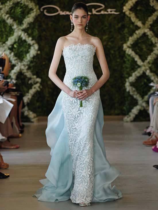 Oscar De La Renta Bridal Dresses 2013-14