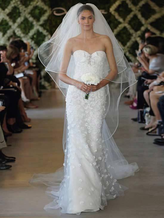 Oscar De La Renta Bridal Dresses 2013-15