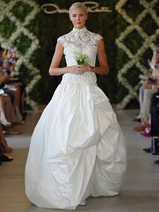 Oscar De La Renta Bridal Dresses 2013-2