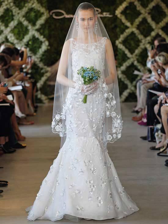 Oscar De La Renta Bridal Dresses 2013-3