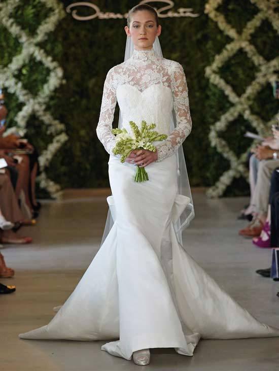 Oscar De La Renta Bridal Dresses 2013-5