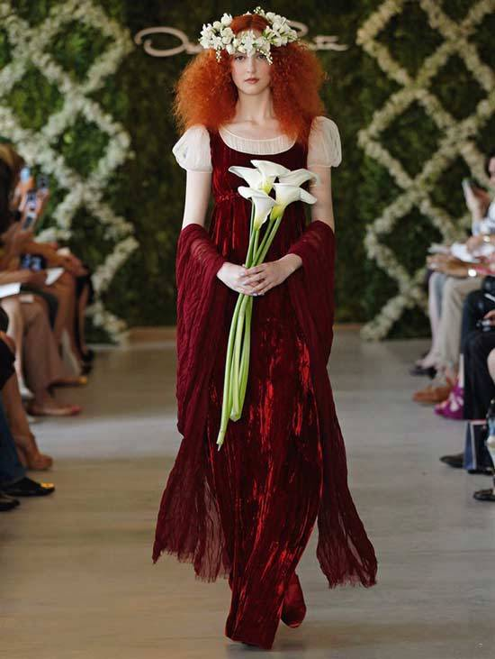 Oscar De La Renta Bridal Dresses 2013-6
