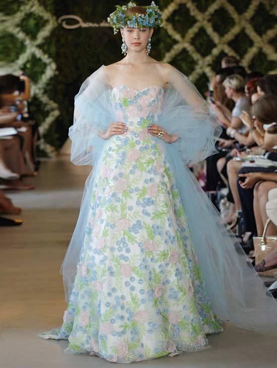 Oscar De La Renta Bridal Dresses 2013-7