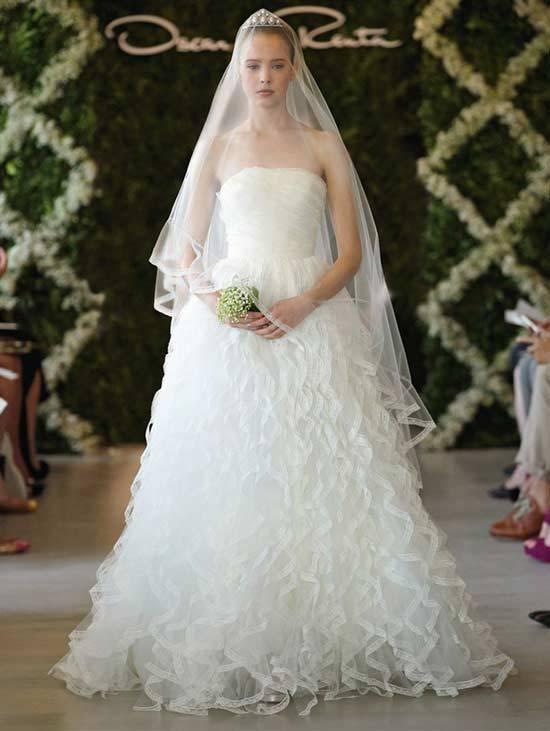 Oscar De La Renta Bridal Dresses 2013-8