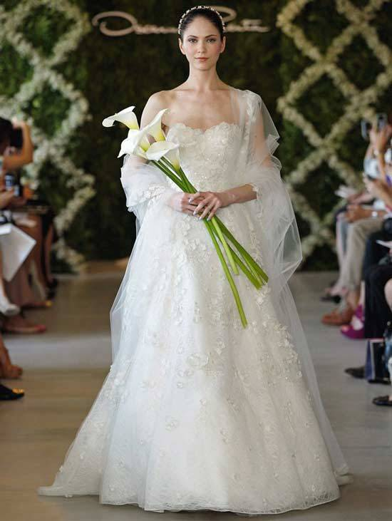 Oscar De La Renta Bridal Dresses 2013-9