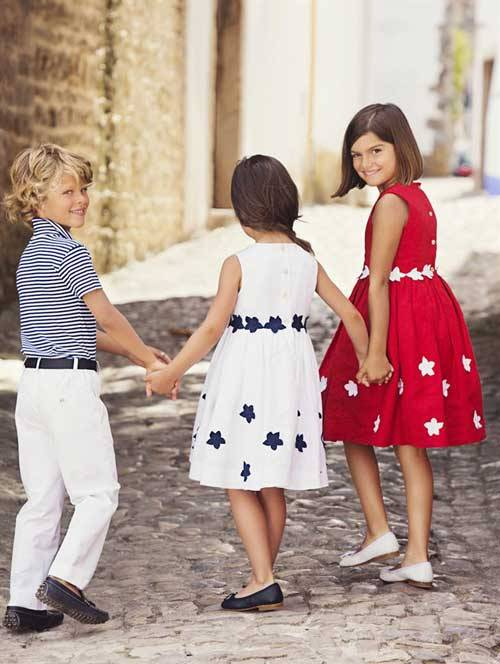 Oscar De La Renta Children S Wear Spring Summer 2013