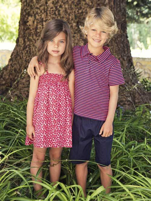Oscar de la Renta Children's Wear Spring Summer 2013-03